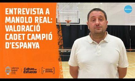 Entrevista a Manolo Real – Cadete femenino campeón de España