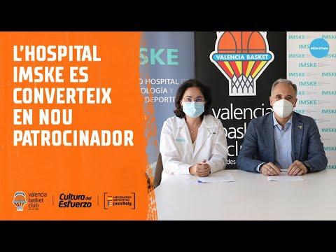 El Hospital IMSKE se convierte en nuevo patrocinador taronja