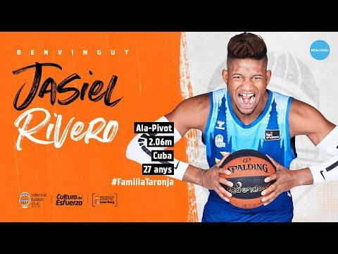 Jasiel Rivero se une por dos temporadas al Valencia Basket