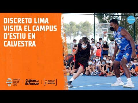 Leandro «discreto» Lima visita el tercer turno del Campus de Verano