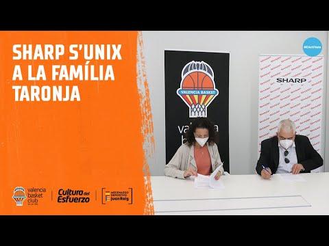 SHARP, nuevo patrocinador del Valencia Basket