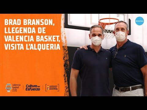 Brad Branson visita L'Alqueria del Basket
