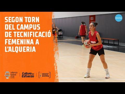 Finaliza el segundo turno del Campus de Tecnificación Femenina en L'Alqueria