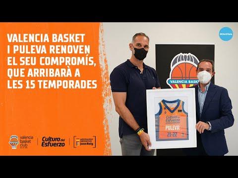 PULEVA renueva con Valencia Basket para la 15º temporada juntos