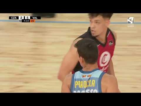 Declaraciones Jaime Pradilla post amistoso Casademont Zaragoza- Valencia Basket en Teruel