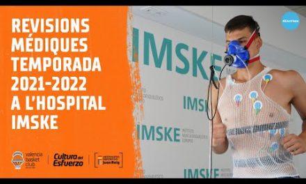 Revisiones médicas temporada 2021-2022 hospital IMSKE
