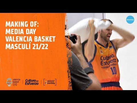 Making of Media Day Valencia Basket Masculino 21/22