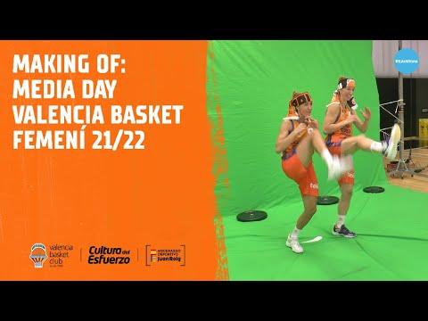 Making of Media Day Valencia Basket Femenino 21/22