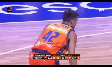 Triple de Álex Bellver para ser incluido en El Mur dels Somnis de L'Alqueria del Basket