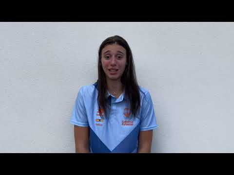 Declaraciones Raquel Carrera post amistoso Casademont Zaragoza – Valencia Basket en Teruel