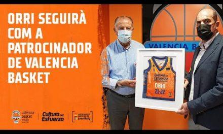 Orri seguirá como patrocinador de Valencia Basket