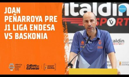 Joan Peñarroya pre J1 Liga Endesa vs Baskonia