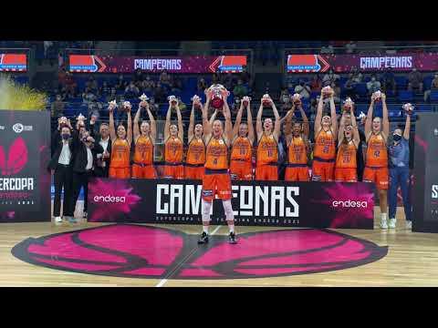¡Subida de la Copa! Final Supercopa LF Endesa Valencia Basket 81 – Perfumerías Avenida 63