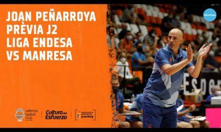 Joan Peñarroya Pre J2 Liga Endesa vs Manresa