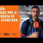 Rubén Burgos pre J1 LF Endesa vs IDK Euskotren