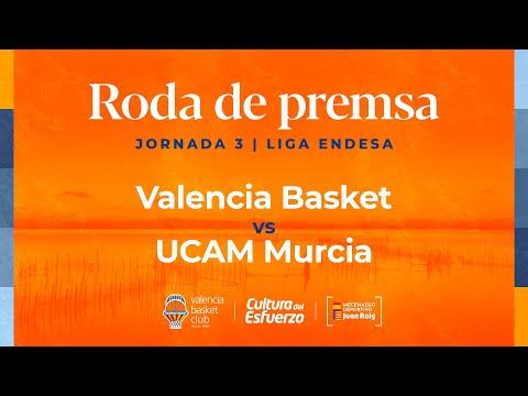 Rueda de prensa post J3 Liga Endesa vs UCAM Murcia