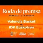 Rueda de prensa post J1 LF Endesa vs IDK Euskotren