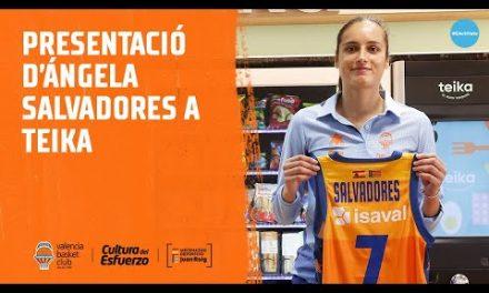 Presentación de Ángela Salvadores en Teika