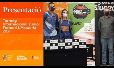 Presentación Torneo Internacional Junior Femenino L'Alqueria 2021