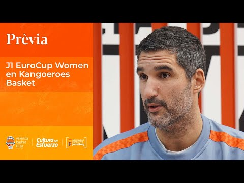 Rubén Burgos pre J1 EuroCup Women en Kangoeroes Basket