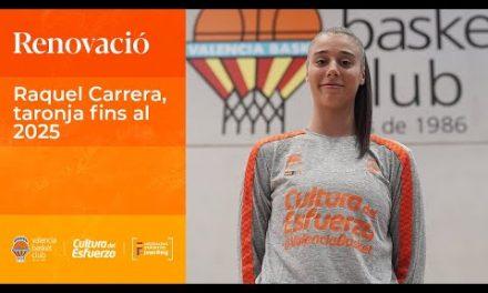 Raquel Carrera, taronja hasta 2025