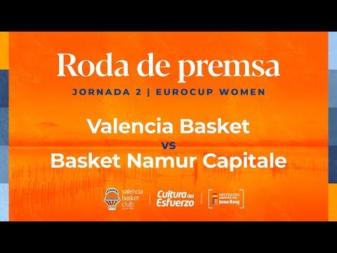 G2 21-22 EuroCup Women vs Basket Namur Capitale
