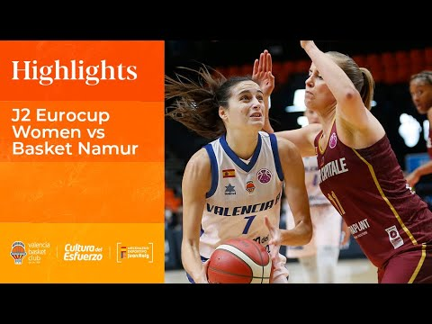 Highlights J2 Eurocup Women vs Basket Namur