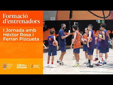I Jornada de formación de entrenadores: Héctor Rosa y Ferran Pizcueta