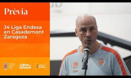 Joan Peñarroya Pre J4 Liga Endesa en Casademont Zaragoza