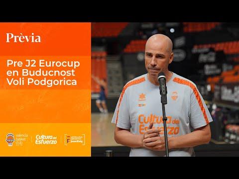 Joan Peñarroya Pre J2 Eurocup en Buducnost Voli Podgorica