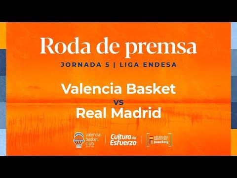 Rueda de prensa post J5 Liga Endesa vs Real Madrid